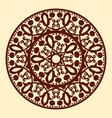 Vintage ornamental mandala