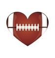 american football icon image vector image