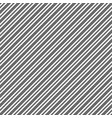 black white diagonal texture seamles pattern vector image vector image