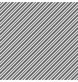 black white diagonal texture seamless pattern vector image vector image
