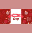 canada day celebration independence day vector image vector image