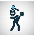 crisis economy concept crash financial icon design vector image