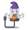 elf hard drive in shape of mascot vector image vector image