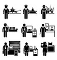 high income professional jobs occupations careers vector image