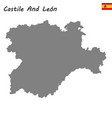 high quality map autonomous community of spain vector image vector image