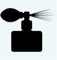 Perfume spray bottle vector image vector image