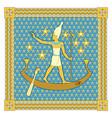 pharaoh in frame vector image