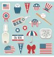 American stickers vector | Price: 1 Credit (USD $1)