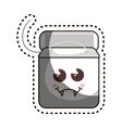 dental floss character icon vector image