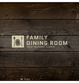 Dining room badges logos and labels for any use vector image
