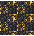 luxury style seamless pattern with gold vector image vector image