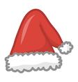 Santa hat vector image vector image
