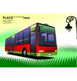 al 0305 bus vector image vector image