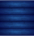 dark blue wooden planks texture vector image vector image