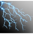 Electric Storm - lightning bolt EPS 10 vector image vector image