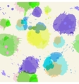 Seamless background with imitation watercolor vector image vector image