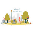 World healthy lifestyle day physical activity