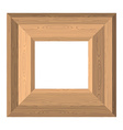 Empty wide frame pictures of boards Wood texture vector image