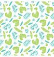 light tropical summer hawaiian seamless vector image