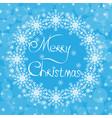 Christmas blue card