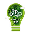 creative idea concept in vector image vector image