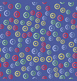 media player colorful button seamless pattern vector image vector image