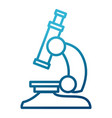 microscope scientific tool vector image vector image