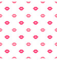 seamless pattern with women lips vector image