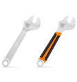 tool screw wrench 03 vector image vector image