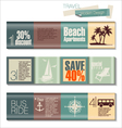 Travel Modern design template vector image