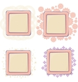 Various of frames vector image