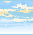 colored clouds behind a mask vector image
