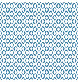 blue line rhombus shapes seamless pattern vector image