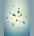 blurred confetti background vector image