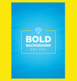 bold blue background texture template vector image vector image