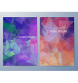 Colorful Brochure design a4 template vector image vector image
