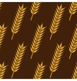 Ears of ripe wheat seamless pattern vector image vector image