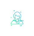 employee icon design vector image