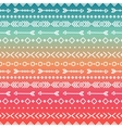 Hand drawn geometric ethnic tribal seamless vector image