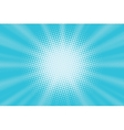 Light blue pop art background vector image vector image