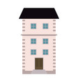 real estate building vector image vector image