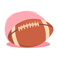 American Football Rugby Ball vector image