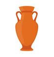 ancient pottery vase jar amphora vector image