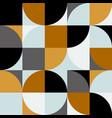 abstract background in retro scandinavian vector image