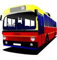 al 0306 bus vector image vector image
