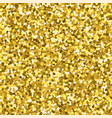 beautiful festive seamless gold texture vector image vector image