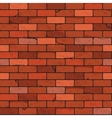Brick wall seamless patterns vector image vector image