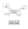 Drone Logo vector image vector image