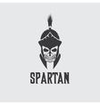Old Vintage Antiques Skull Spartan warrior design vector image vector image