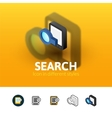Search icon in different style vector image vector image